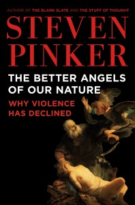 The Better Angels cover Steven Pinker