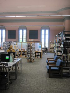 McArthur Library interior