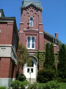 McArthur Library Clock tower