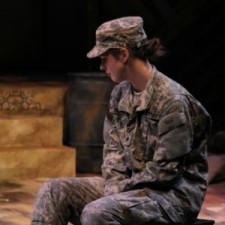 Actress Tamara Clark in the spring 2014 production at History Theatre in St. Paul, MN.