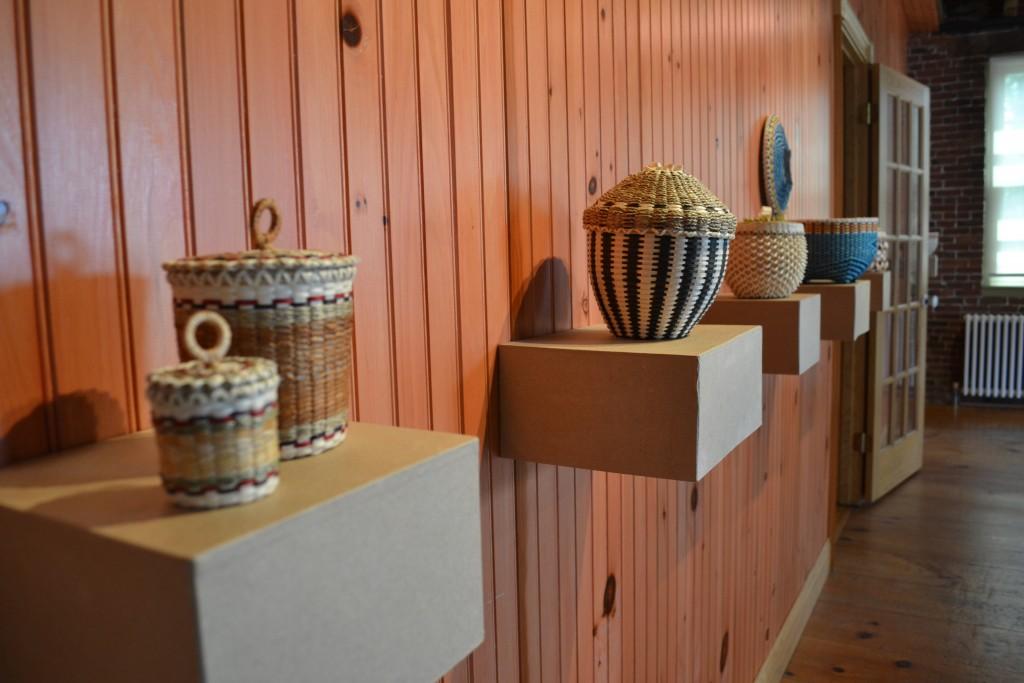 Maine Indian Basketry exhibit