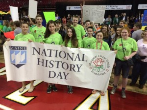Maine National History Day competitors