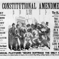 Historical pamphlet on voting and 14th amendment