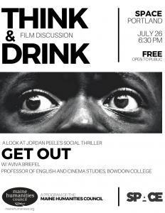 Think & Drink _Get Out_ Flyer
